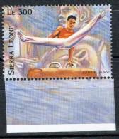 SIERRA LEONE SIERRA  LEONA 1996 OLYMPIC GAMES ATLANTA GIMNASTIC POMMEL HORSE - Ete 1996: Atlanta