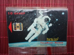 P 1 Iceland Astronaut (Mint,New) With Blister Only 1000 Made Very Rare !