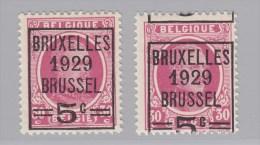 Nr 273 **, Sterk Verschoven Opdruk (X13595) - Oddities