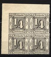 Thurn Und Taxis,35,Eck-VB,xx - Thurn Und Taxis