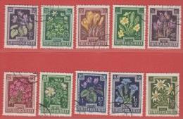 1948 Oostenrijk - Autriche - Austria  (Gest./Obl./Used)  Yv 722/31Mi  868/77ANK 877/86 - 1945-60 Gebraucht