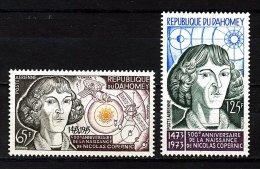 Rep. Dahomey ** PA N° 188/189 - Nicolas Copernic - Benin – Dahomey (1960-...)