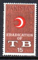 Pakistan 1967 TB Eradication, MNH (D)