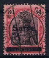 Saar Yvert Nr 16 , Mi 16 I    Used / Obl  Signed/signé/signiert Brun - 1920-35 League Of Nations