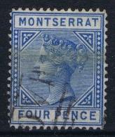 Montserrat 1880, Yv Nr 4 Used - Montserrat