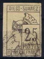 Diego Suarez  Yv Nr 9 Used Obl - Diego Suarez (1890-1898)