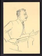 LOT 6 CPA 100 JUBILAUM DER UNIVERSITAT BERN 1934 Illustration Professeurs Tuor Fehr Guhi Homberger Thormann Burckhardt - BE Bern