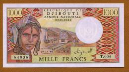 """1000 Francs """"DJIBOUTI""""  1988 Pick 37  UNC Bc41 - Djibouti"""
