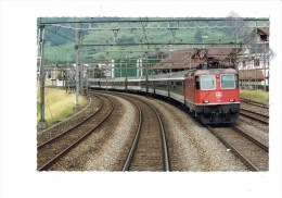 Schwytz, Suisse - TRAIN  Locomotive - 2006 - SZ Schwyz