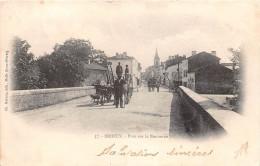 ¤¤   -  37   -  BRIOUX   -  Pont Sur La Boutonne   -  Attelage De Boeufs   -   ¤¤ - Brioux Sur Boutonne