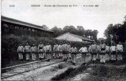 ++ GENIE - Ecole De Chemins De Fer ++ - Militaria