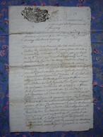 Rente Papier 4 PP 1756 Généralité De Savoie Passy Familles Biolley Bellegarde Decornillon - Manuscrits