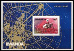 Rwanda BL 074** ND Viking Sur Mars  Non Dentelé  MNH - Rwanda