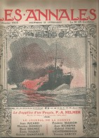 journal LES ANNALES , le supplice d'un peuple , bateaux de guerre, militaria , 7 f�vrier 2015 , frais fr : 2.50�