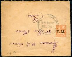 FRANCE - TIMBRE DE FRANCHISE N° 1 / ANNULÉ 147 éme R.I. , POUR PARIS LE 26/11/1902 - B - Franchise Militaire (timbres)
