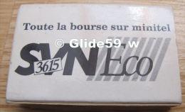 Boîte D'allumettes - Toute La Bourse Sur Minitel - 3615 SVN Eco - Cajas De Cerillas (fósforos)