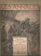 journal LES ANNALES , Bismark pers�cuteur de l'Alsace , militaria , 21 f�vrier 2015 , frais fr : 2.50�