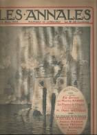 journal LES ANNALES , en Orient , les finances de l'Empire  , militaria , 14 mars  2015 , frais fr : 2.50�