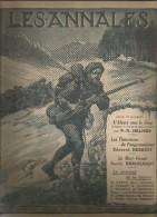 journal LES ANNALES , les Diables bleus dans les Vosges  , militaria , 21 mars  2015 , frais fr : 2.50�
