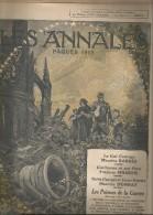 journal LES ANNALES , num�ro Sp�cial : P�QUES 1915  , militaria , 4 avril  2015 , frais fr : 2.50�