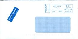 Frankreich Annecy TGST 2014 Prioritaire Document - Poststempel (Briefe)