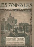 journal LES ANNALES , Paques Russe , de Longwy � Schaffhouse , militaria , 11 avril  2015 , frais fr : 2.50�
