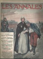 journal LES ANNALES ,l'�cole Allemande , l��me Italienne , militaria , 9 mai 2015 , frais fr : 2.50�