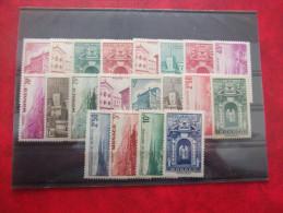 MONACO 1939-41, YVERT 169-83,   **MNH** - Monaco