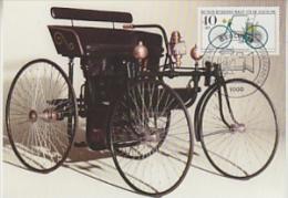 Berlin 1982 Daimler-Stahlradwagen 1889 1v Maxicard (19372) - Maximum Kaarten