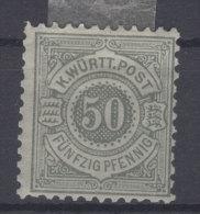 W�rttemberg Michel No. 51 * ungebraucht / zwei Falze