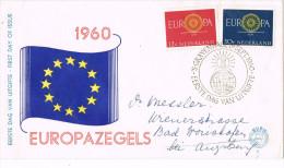 11685. Carta F.D.C. Gravenhage (Holland) 1960. Tema Europa - FDC