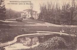 CPA MARNES LA COQUETTE- PARK, THE OAK GROVE - France
