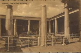 Italia - Cartolina Circolato 1910 A Costantinopoli - Pompei - Casa Dei Vetti Dall' Entrata - 2/scans - Pompei