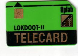INDE INDIA APLAB GREEN LOKDOOT - II PUCE GEMPLUS UT - India