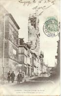 54. Longwy. Rue De L'hotel De Ville Après Le Bombardement De 1870-71 - Longwy