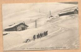 Sollières - 1496. - Un Poste De Chasseurs Alpins (SOLLIERES. - La Corvée D´Eau - écrite 1915 - CHASSEUR ALPIN- MILITARIA - Otros Municipios