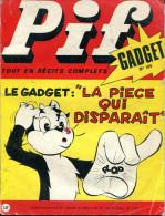 Pif Gadget N°105 (Vaillant 1343)  Avec BD De Teddy Ted Et Une BD De Robin Des Bois - Pif Gadget