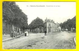 ROND-POINT DE LA GARE à SAINTE-MENEHOULD Dept 51MARNE - EDITION :  HAUT RUE CHANZY G130 - Sainte-Menehould