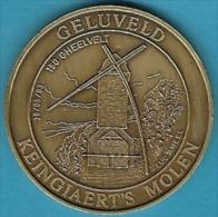 2056 Vz Geluveld Keingiaert´s Molen 150 Gheelvelt - Kz Inter-Filac Vzw Woumen-Diksmuide - Jetons De Communes