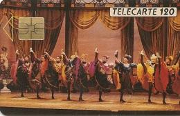 CARTE-PUBLICC-MONACO-MF 11-SO3-11/90-LES BALLETS De MONTE CARLO-UTILISE-TBE - Monaco