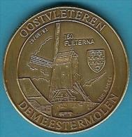 2062 Vz Oostvleteren Demeestermolen 150 Fleterna - Kz Inter-Filac Vzw Woumen-Diksmuide - Jetons De Communes