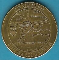 2063 Vz De Moeren Sint-Karel´s Molen 150 Mora - Kz Inter-Filac Vzw Woumen-Diksmuide - Jetons De Communes