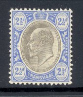 TRANSVAAL, 1902 2½d (wmk Single Crown CA) Very Fine MM, Cat £13 - Zuid-Afrika (...-1961)