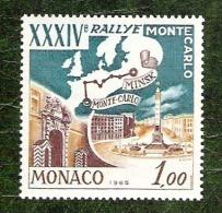 Monaco - YT N°662 - Rallye De Monte Carlo / Sports - 1964 - Neuf - Monaco