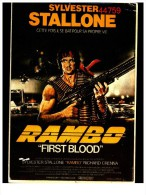 Rambo First Blood - Affiches Sur Carte