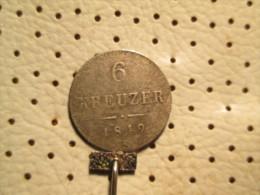 AUSTRIA 6 Kreuzer 1849 A  1.78 Grams - Autriche