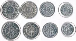 Netherland Antilles  Set 4 Coins - Antilles Neérlandaises