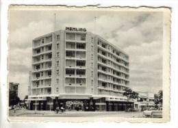 """CPSM KINSHASA Ex. LEOPOLDVILLE (République Démocratique Congo) - Hôtel """"MEMLING"""" - Kinshasa - Léopoldville"""