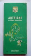 GUIDE MICHELIN VERT -AUTRICHE ET ALPES BAVAROISES  1965 - Michelin (guides)