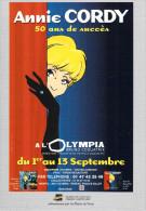 Spectacle- Annie CORDY (1)  A L'Olympia  1er Au 13 Septembre  (1998)  50 Ans De Succès (artiste) * PRIX FIXE - Artistes